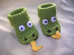 Delightful Dragon Baby Booties. $19.00, via Etsy. #Repin By:Pinterest++ for iPad#