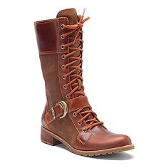 Timberland Earthkeepers® Bethel Buckle Mid Lace Boot Medium Brown
