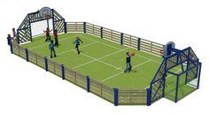 Agoraspace Junior  Multi Use Games Area for Schools