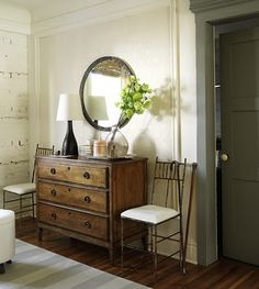 I like the chest of drawers, the rug, and the mirror...