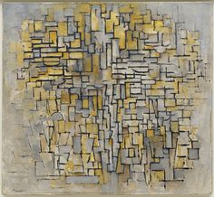 Piet Mondrian, Tableau No. 2/Composition No. VII, 1913. Oil on canvas, 105.1 x 114.3 cm. Solomon R. Guggenheim Museum, New York. Solomon R. Guggenheim Founding Collection 49.1228 © 2016, Mondrian/Holtzman Trust