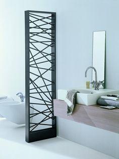 super cooler Heizkörper im Badezimmer