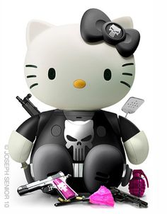 punisher kitty