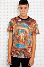 Underated Angels Sublimation Print Tee at Urban Outfitters