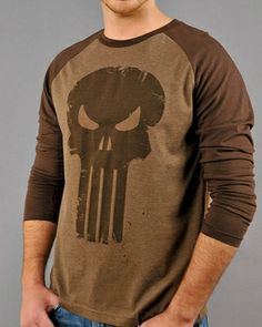 Save 20% off on entire selection of long sleeve T's! - Punisher Skull T-Shirt ($15.90)