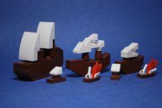 LEGO Microscale models | The Brothers Brick | LEGO Blog