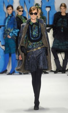 @Anna Sui Fall 2012. #StyleInvades #NYFW #MBFW    For all your #NYFW Fix follow http://www.twitter.com/Jeanniemai