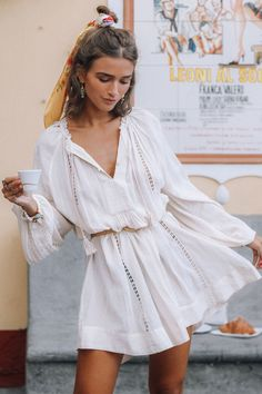 Shop: Clothing, Swim, Accessories, and Lifestyle - Spell USA Casual Dress Outfits, Summer Dress Outfits, Boho Summer Dresses, Beach Outfits, Mini Dresses, Women's Dresses, Style Parisienne, Summer Tunics, Moda Boho