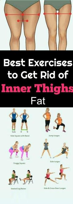 8 Exercise That Will Burn Inner Thigh Fat  #Exercises