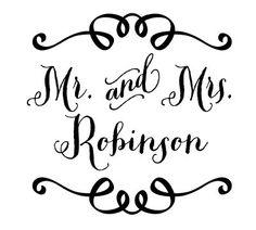 Custom Wedding Logo/Monogram / DIY Wedding