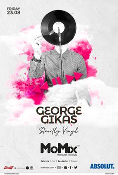 August 2019, Summer DJ Lineup Resident DJ: George Gikas Info & Reservations: ☎+30 697 435 0179 #Santorini #DJ #summer #party #summerparty #fira #thira #greeksummer #cocktailbar #momixbar #momixsantorini Santorini Caldera, Santorini Greece, Cocktail Desserts, Cocktails, Mixology Bar, Cocktail Night, Lineup, Dj, Party