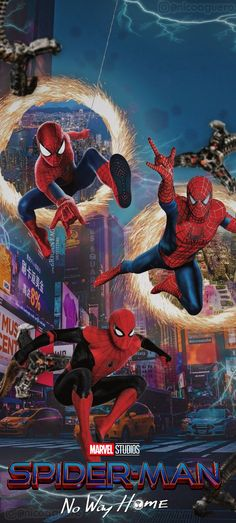 Spider Verse, Amazing Spiderman, Live Action, Avengers, Artwork, Movie Posters, Wallpapers, Spider Man, Superhero