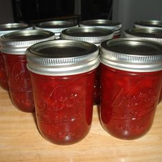 Amish Rhubarb Jam- rhubarb sugar pineapple and cherry jello- wow that is all Rhubarb Desserts, Rhubarb Jam Recipes Canning, Rhubarb Freezer Jam, Rhubarb Preserves, Rhubarb Ideas, Rhubarb Jelly, Sure Jell Strawberry Rhubarb Jam Recipe, Rhubarb Marmalade, Jars