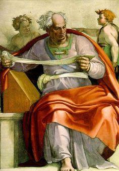 Michel-Ange (1475-1564) - Le prophète Joël