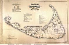 Map of Nantucket 1869