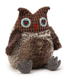 Look at this GUND Brown Fabrock Owl on #zulily today!