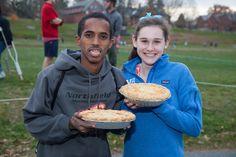 Running of the Bemis-Forslund Pie Race at Northfield Mount Hermon, November 11, 2013.