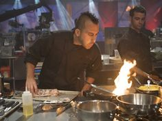 In 2010 Marc Forgione won Season 3 of The Next Iron Chef.    Read more at: http://www.foodnetwork.com/winner-marc-forgione/index.html?oc=linkback