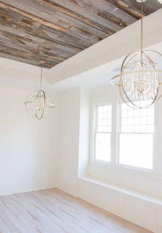 Inside our 1905 Historic Home Restoration. alabaster-walls-girls-bedroom-stikwood-weathered-wood-c White Wall Paint, Best White Paint, White Paint Colors, Wall Paint Colors, Interior Paint Colors, Paint Colors For Home, White Paints, House Colors, Paint Walls
