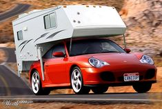 Porsche camper. Drive it to the track and stay for the weekend.