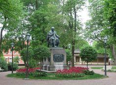 Porthanin puisto Turussa