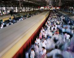 METROPOLIS 12 December 2009 Mumbai, India  Half of humanity now lives in a city, and the United Nations has predicted that 70 percent of the world's population will reside in urban areas by 2050. Photo credit: Panos Pictures