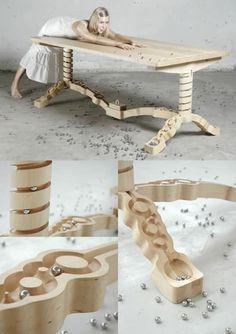 Marble run table Unique Furniture, Furniture Plans, Wood Furniture, Furniture Design, Furniture Removal, Furniture Assembly, Furniture Online, Cheap Furniture, Furniture Buyers