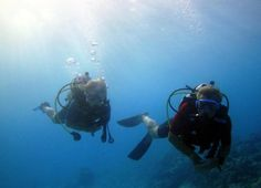 We took the PADI course - not sure if for me - prefer snorkelling (!?!) - but my husband loved it ...