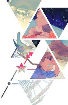 [FW]Le temps des Croisades插图 - 零@通販始めたのマンガ - pixiv Magazine Illustration, Creative Illustration, Illustration Art, Book Design, Design Art, Character Art, Character Design, Manga Covers, Digital Painting Tutorials