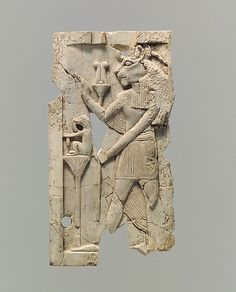 Plaque with Egyptian goddess Sakhmet Period: Neo-Assyrian Date: ca. 8th–7th century B.C. Geography: Mesopotamia, Nimrud (ancient Kalhu) Culture: Assyrian Medium: Ivory