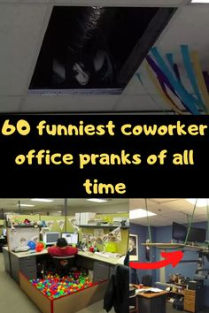 If you're like most people in this day and age, the thought of office pranks makes you think of, well, The Office. The NBC sitcom brought us master prankster Jim Halpert. Right from the start of the show, he was putting desk items in Jell-O and wrapping things in gift wrap. And of course, the pranks only got better from there.