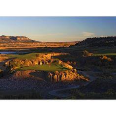 Cougar Canyon golf course picture in Trinidad, Colorado. Artist: Durrance $175 http://www.golfcourseartwork.com/golf-photos-2/west/cougar-canyon