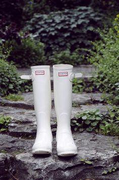 Spring/Summer 2013 Original Gloss wellies in Enamel.