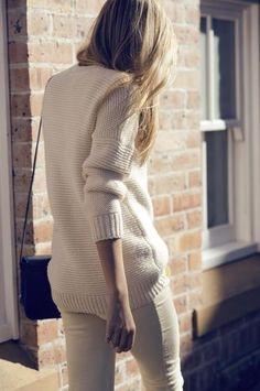 Knit Boyfriend Sweater