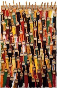 arman Questionne le rapport entre objet et medium medium devient art Yves Klein, Jean Tinguely, Alberto Giacometti, Piet Mondrian, Nouveau Realisme, Neo Dada, Art Du Monde, Fluxus, Found Object Art