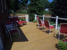 Baltimore, MD- Pressure Treated wood with Vinyl Railings