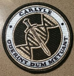 Lazarus - Carlyle Family Logo Patch Comic Art