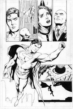Superman: Secret Origin #4 page #23, by Gary Frank Comic Art