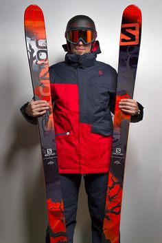 Salomon Q98 Skiis, Scott Avett Ski Jacket & Scott Lombardo Ski Trousers