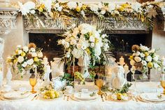 WedLuxe– An Ethereal Take on Ancient Greece – Wedding Ideas | Photography By: Eric K Choi Follow @WedLuxe for more wedding inspiration!
