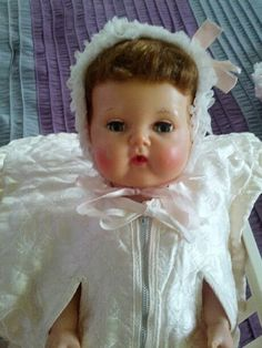 Tiny Tears Doll With Rockabye Eyes