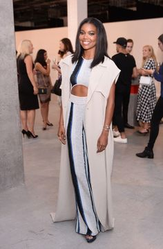 Best Dressed - Gabrielle Union in Baja East-Wmag
