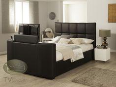 Harvard iAudio - Black - 7ft Emperor TV Bed + FREE Delivery & Installation Tv Beds, Beds For Sale, Beds Online, Harvard, Emperor, King Size, Free Delivery, Mattress, Bedroom