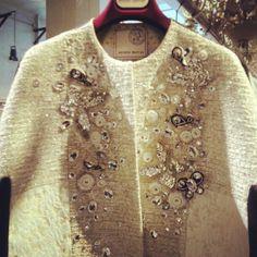 Antonio Marras limited edition, tessuto e decorazioni super preziosi. Questo è un cappottino stupendo. @negrifirmanpr