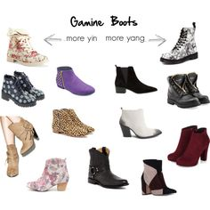 Gamine Boots by thewildpapillon on Polyvore featuring Qupid, Balmain, Frye, Anouki, Aéropostale, Sbicca, Loeffler Randall, John Fluevog, MANGO and Dr. Martens