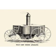 Buyenlarge 'Hills Camp Cooking Apparatus' Graphic Art
