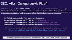 ALFA - OMEGA servis & WFB Media projekt  SEO Plzeň >>> https://plus.google.com/u/0/b/107761635126560811498/collection/krWVNE  #SEO #PLZEŇ – #optimalizace #webových #stránek #pro #internetové #vyhledávače.