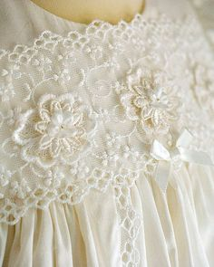 lace christening gowns - Google Search