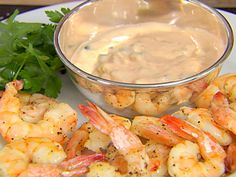 Roasted Shrimp with Thousand Island Dressing recipe from Ina Garten via Food Network