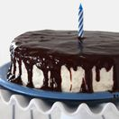 Confession #64: I'm Cake Deprived… Chocolate Cake with Cream Cheese Frosting and Satiny Chocolate Glaze